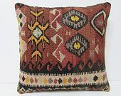 20x20 kilim pillow 20x20 decorative pillow 20x20 pillow cover 20x20 pillow case 20x20 throw pillow covers large kilim pillow cushions 22609