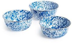 Enamelware Mixing Bowls (Set of 3)