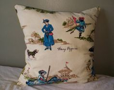 Mary Poppins throw pillow by EimajDesigns