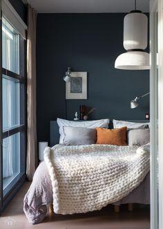 Scandi Bedroom, Tudor House, Condo Living, Colorful Interiors, Master Bedroom, Sweet Home, Room Decor, House Design, Flooring