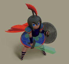 https://www.behance.net/gallery/51987297/Gladiator