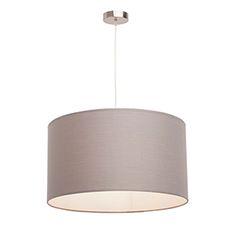 Lámpara de techo Nicole gris Inspire