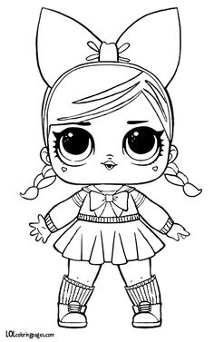 Color all of your favorite L. Unicorn Coloring Pages, Colouring Pages, Adult Coloring Pages, Coloring Sheets, Coloring Books, Kids Printable Coloring Pages, Easy Disney Drawings, Doll Drawing, Doll Party