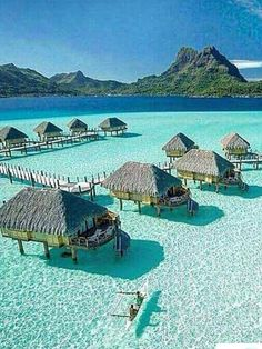 5. A desirable location that I would like visit someday is Bora Bora.