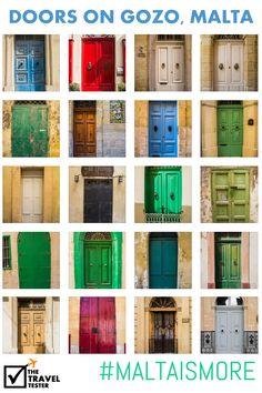 for my home...........beautiful doors to each entryway, bedroom, bath, etc....20+ Beautiful Door Photos on Gozo, Malta | The Travel Tester