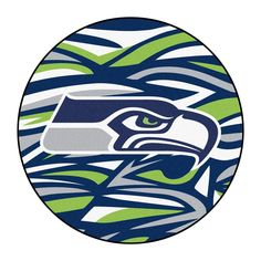 Shop for NFL - Seattle Seahawks Roundel Mat diameter. Get free delivery On EVERYTHING* Overstock - Your Online Collectibles Outlet Store! Nfl Seattle, Seattle Seahawks, Seattle Mariners, Denver Broncos, Pittsburgh Steelers, Dallas Cowboys, Seahawks Football, Sport Football, Football Season