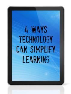 4 Ways Technology Can Simplify Learning #weareteachers