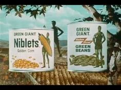 1960s Green Giant TV commercial