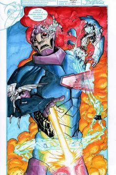 Sentinel vs X-Men pt. 1