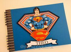 Caderno desenho menino