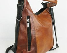 Marvelous Make a Hobo Bag Ideas. All Time Favorite Make a Hobo Bag Ideas. Soft Leather Handbags, Large Leather Tote Bag, Large Crossbody Bags, Brown Leather Backpack, Leather Laptop Bag, Brown Leather Purses, Leather Shoulder Bag, Leather Bag, Leather Fringe