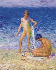 John Peter Russell Boys on the Beach art for sale at Toperfect gallery. Buy the John Peter Russell Boys on the Beach oil painting in Factory Price. All Paintings are Satisfaction Guaranteed Australian Painters, Australian Artists, Australian Boys, Matisse, Monet, John Peter, Impressionism Art, Boy Art, Aboriginal Art