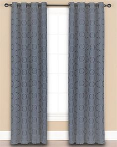 Ricardo Trading Ultimate Blackout Grommet Top Panel Diy Blackout Curtains, Tab Top Curtains, Curtain Panels, Panel Curtains, Bamboo Shades, Room Darkening, Versailles, Projects To Try, Ring