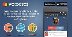 Raise your voice to your choice.#poll #events #survey #votocrat