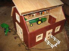 Beautiful handmade barn