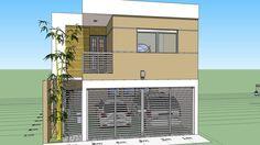 Como diseñar una casa de 7x15 mts. de terreno