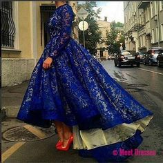 Royal Blue Homecoming Dress,Homecoming Dresses,Party Dress,High Low Prom Gown,Cocktails Dress,Homecoming Dresses PD20186082