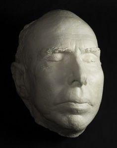 Theodore Dreiser's death mask (1945)