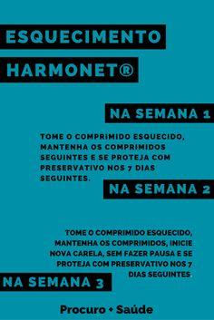 Esquecimentos de harmonet® (etinilestradiol 0,02 mg + gestodeno 0,075 mg)