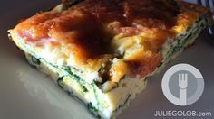Quiche may sound fancy, but it's a great throw together dish for a weekend breakfast or brunch. That's exactly what I did last Saturday when I cleaned out the fridge. Though some people love that f...