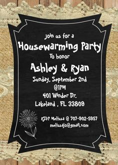 housewarming party invitations in spanish