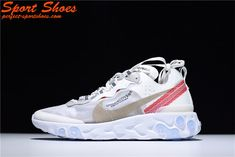 b85c08c50908 Buy Women Men Tax Free Undercover X Nike Epic React Element 87  White Cream Red from Reliable Women Men Tax Free Undercover X Nike Epic  React Element 87 ...