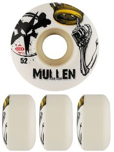 #Bones STF #Rodney #Mullen Crown #Skateboard #Wheels