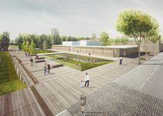 Iotti + Pavarani Architetti, CCDP Centro Cooperativo di Progettazione, ing.luca gorini — Riqualificazione urbana delle aree centrali del cap...