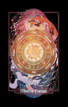 The Children of Litha Tarot Deck on Behance Tarot Cards Major Arcana, Wicca, Tarot Card Decks, Wheel Of Fortune, Oracle Cards, Deck Of Cards, Art Prints, Velvet Matte, Children