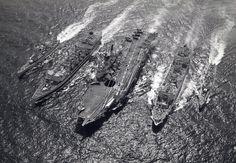 HMS Ark Royal, five-ship RAS. British Aircraft Carrier, Navy Times, Royal Navy Aircraft Carriers, Hms Ark Royal, Navy Day, British Armed Forces, Naval History, Royal Marines, Army Vehicles