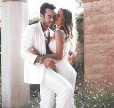 Lola Ponce e Aaron Diaz matrimonio foto