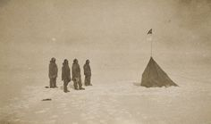 On This Day: Roald Amundsen Becomes First Man to Reach South Pole    On Dec. 14, 1911, Roald Amundsen and four fellow Norwegian explorers became the first men to reach the South Pole, beating the ill-fated team of British Capt. Robert F. Scott by just over a month.