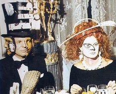 Vigilant Citizen | On 12/12/72 Marie-Hélène de Rothschild held a Surrealist Ball at Château de Ferrières, one of the family's gigantic mansions.