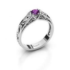 Ontwerp uw eigen Quinty ring online - DiamondsByMe.nl