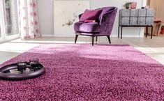 Teppiche sind langweilig? Ganz sicher nicht in bunten Farben. Ein tolles Highlight, das zum perfekten Hingucker wird. Foto: JAB Shag Rug, Modern, Rugs, Home Decor, Bedroom, Living Room, Types Of Rugs, Homes, Shaggy Rug