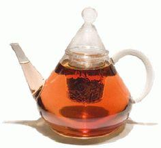 Merlin Borosilicate Glass Teapot - 1200ml - cocafe