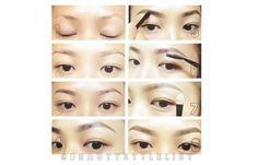 Eyebrow Shapes For Asian Eyes - Thick Asian Eyebrows