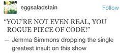 Jemma Simmons, ladies and gentlemen
