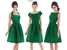 Green bridesmaid dresses : PANTONE WEDDING Styleboard - love the style, but in purple