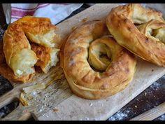 Σκοπελίτικη τυρόπιτα -συνταγή και μυστικά - YouTube Bagel, Bread, Youtube, Food, Brot, Essen, Baking, Meals, Breads