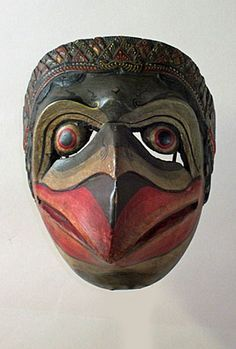 Traditional Sculptures, Bird Masks, Vintage Mannequin, Indonesian Art, Hidden Face, Body Figure, Beautiful Mask, Animal Masks, Masks Art
