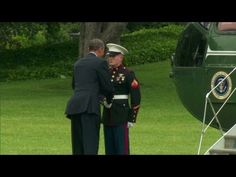 Obama Refuses To Salute Soldier, What He Does Instead Will Make You Furious - American News  August 3, 2014