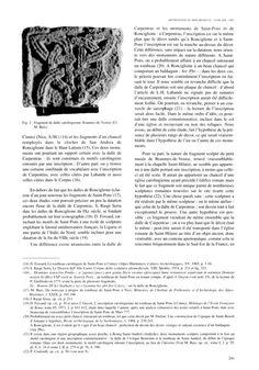 """Fragment de dalle carolingienne Beaumes-de-Venise du IX°s- 7) CHARLES DE PROVENCE: René Poupardi: """"Durant l'été.. de la mi année, peut-être dès la fin d'août, les 3 frères se rencontraient à Orbe, à quelques kilomètres au S.O du lac de Neufchâtel. Là, les discussions recommencèrent, et peu s'en fallu qu'on n'en vînt aux mains. LOTHAIRE II surtout convoitait la part de son jeune frère, et pour s'en emparer, songeait à faire tondre Charles et à le laisser finir ses jours dans un monastère."""