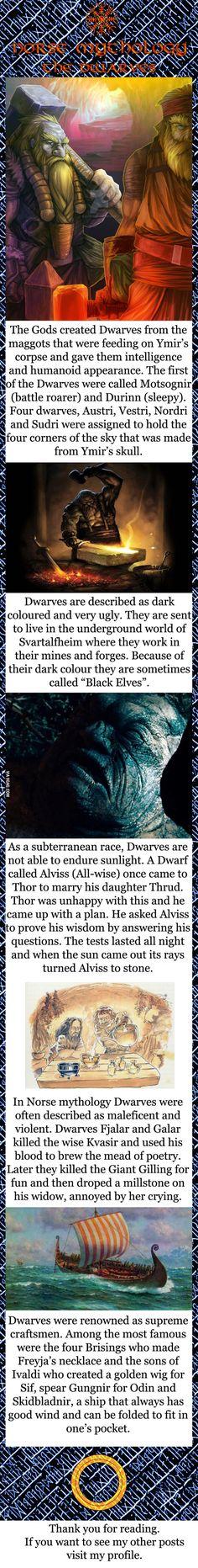Norse mythology - The Dwarves