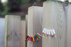 White lapicitos necklace by corazondegalleta on Etsy