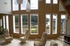 The Scandinavian livingroom with amazing interior panels Wooden Walls, Scandinavian, Windows, Living Room, Amazing, Interior, Wood Walls, Indoor, Home Living Room