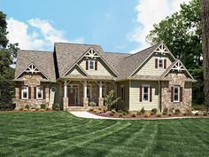 Country House Plan with 2548 Square Feet and 3 Bedrooms from Dream Home Source | House Plan Code DHSW38731