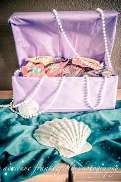 Little Mermaid Birthday Party Mermaid Theme Birthday, Little Mermaid Birthday, Little Mermaid Parties, Mermaid Themed Party, First Birthday Theme Girl, Mermaid Party Games, Mermaid Party Decorations, Mermaid Baby Showers, Baby Mermaid