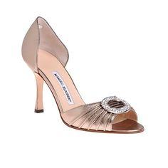 Rose Gold Wedding Shoes Brides