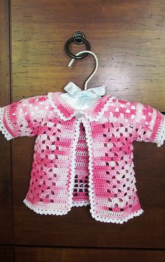 63 best crochet baby and toddlers clothes images on pinterest butterfly sweater pattern by sonja otto fandeluxe Image collections